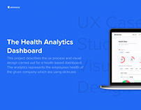 Health Dashboard- UX Case Study and Visual Design