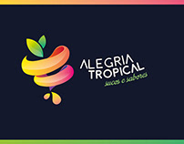 Alegria Tropical - Identidade Visual