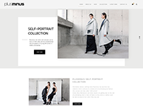 New website for Plusminus Fashion
