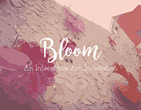 Bloom : Interactive Art