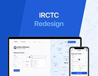 IRCTC Redesign | UI & UX