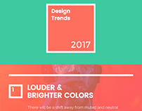 Graphic Design Trends That Will Take Over in 2017