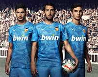 Graphic Design Valencia C.F. Kits 2019 / 2020
