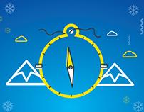 Turkcell/Yeni Yıl Landing Page/Illustration