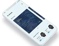 G-shock mobile app redesign