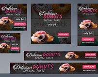 Donuts Google Ad Banner
