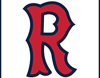 Vector Red Sox 'R'