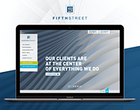 Website Architecture, UX/UI Design | Financial Firm