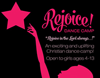 Rejoice! Dance Camp: FLYER