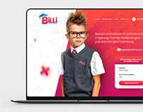 Website design for online school Billi