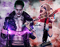 Suicide Squad poster example