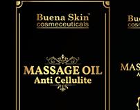 Buena Skin Anti Cellulite Massage Oil