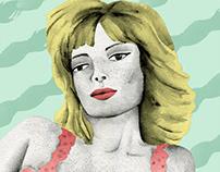Cine portrait - Illustration project