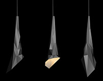 """Lamp """"Crystal"""" concept"""
