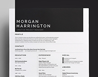 Resume/CV - 'Morgan'