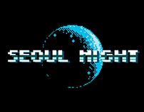 Seoul Night / Pixel Art