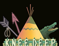 Knee Deep Video Game Logo