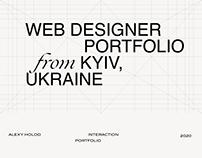 Alexy Holod Personal portfolio