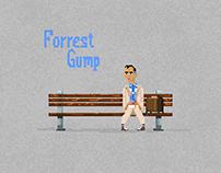 Pixel Art / Forrest Gump