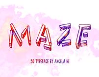 Maze - Free Font