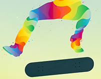 Skateboard Illustrations