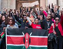 Rassemblement de soutien au peuple kenyan 12|04|15-Lyon