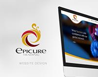 Epicure Website Design