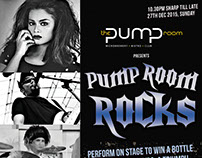 The Pump Room presents Rock Night