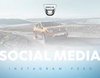 Dacia Social Media Design