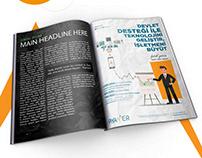 Piyamer Yatırım Gazete ve Dergi İlan Çalışması