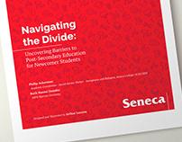 Navigating the Divide Layout & Editorial Illustrations