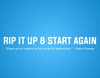 IKEA - Rip It Up & Start Again