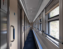 Train interior visualisation