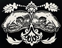 Squirrel Skulls