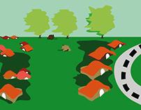 Ilustraciones y ambientación: Actividades infantiles