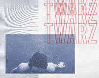 "Syndrom Paryski ""Twarz"" single cover art"