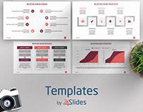 Block Chain Data Presentation Template | Free Download