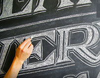 Chalk Lettering Class