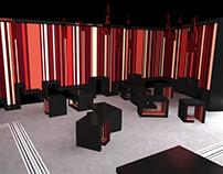 Wine bar - interior desing