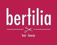 Bertilia hair - beauty | Identidade Gráfica