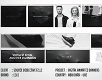 ECCO Digital Animated Banners