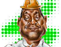 caricatura engenheiro