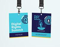 Digital Rights Summit event BRANDING