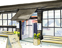 Workshop Coffee, Clerkenwell Road