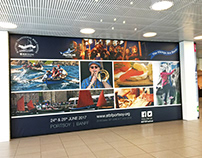 STBF billboard and advertising designs