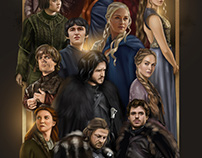 Game of Thrones - Digital Painting
