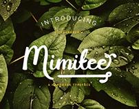 Mimitee - A handmade typeface by Ruang Kerja