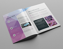 A4 Abstract Brochure- 16pages