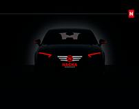 Nacka Bilspecialisten AB - corporate identity