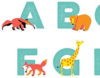 AnimalAlphabet print